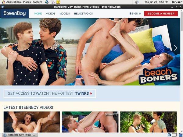 8teenboy.com Account Blog