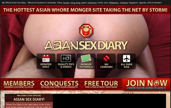 Asian Sex Diary Trial Membership Free