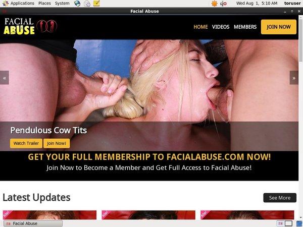 Discount Facialabuse.com Trial Membership
