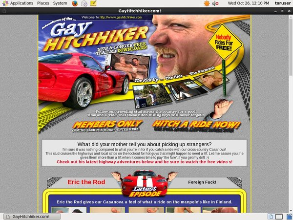 Gay Hitch Hiker Paysites Reviews
