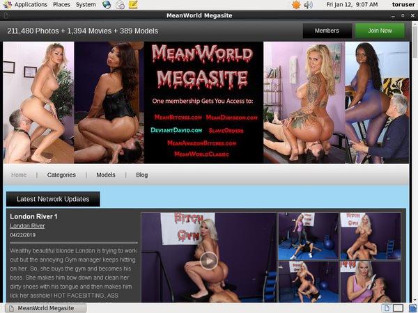 Get Mean World Free Login