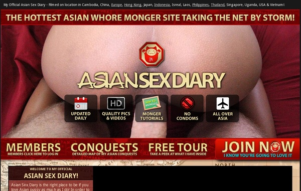 Join Asian Sex Diary With Paypal