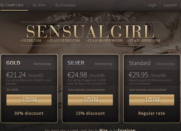 Sensualgirl.com Paysite