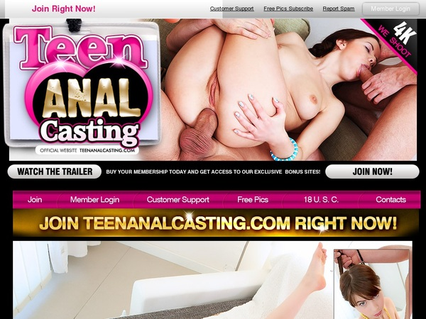 Teen Anal Casting Porn Free