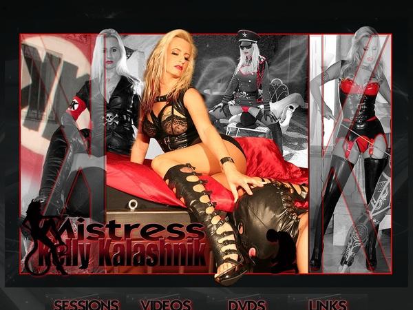 Get Mistress Kelly Kalashnik Membership Discount