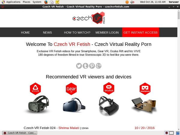 Czechvrfetish.com Discount Review