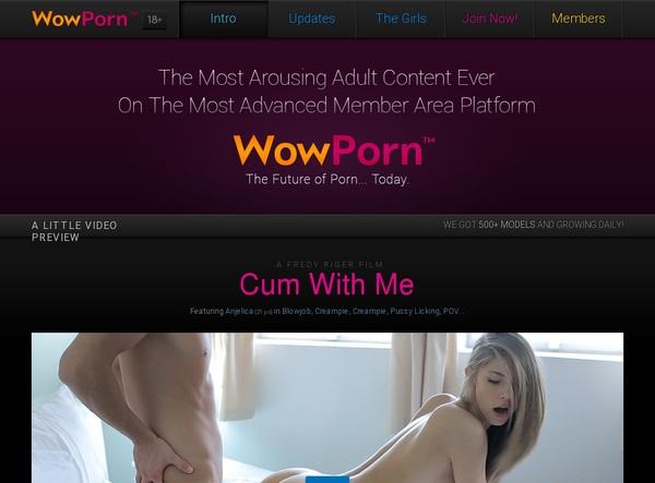 Wowporn.com Site Rip 2018