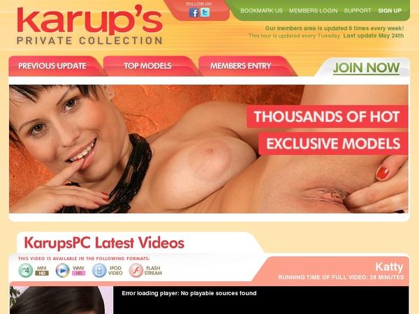 Karupspc.com Passcodes