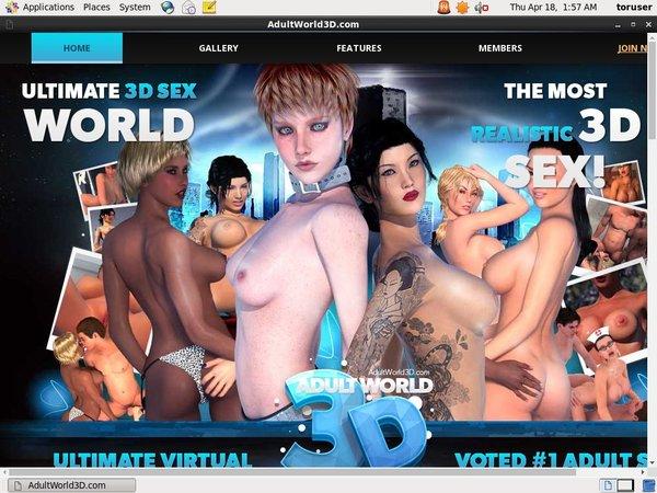 Adult World 3D Free Premium Accounts