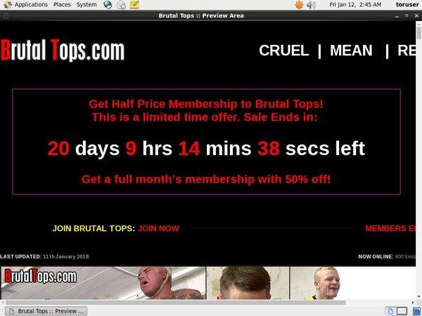 Brutaltops Membership Plan
