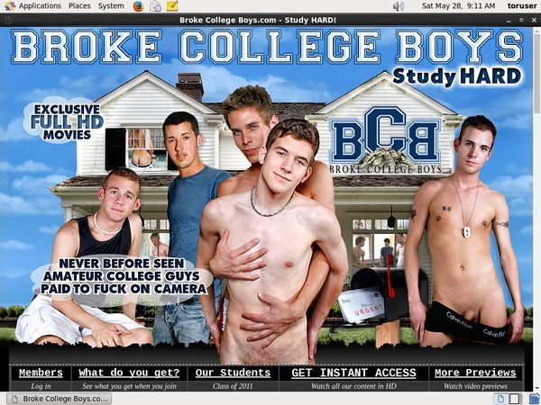 Brokecollegeboys Porn Passwords