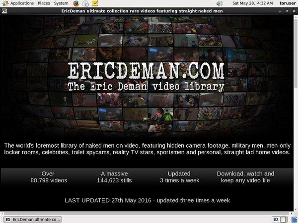 Eric Deman Discount Prices