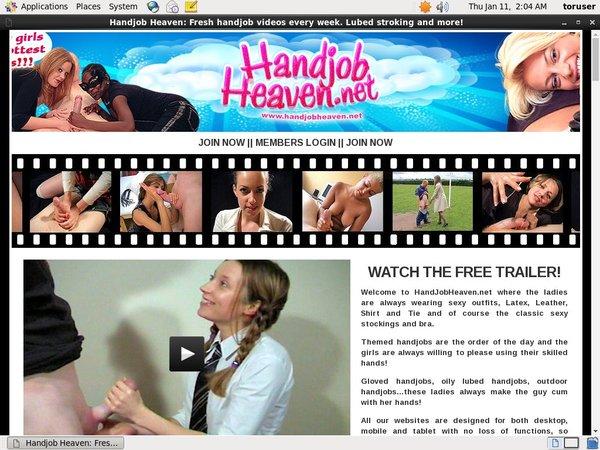 Handjob Heaven Without CC